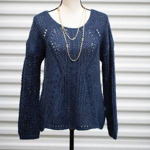 Sweaters - Blue Soft Surroundings Sweater